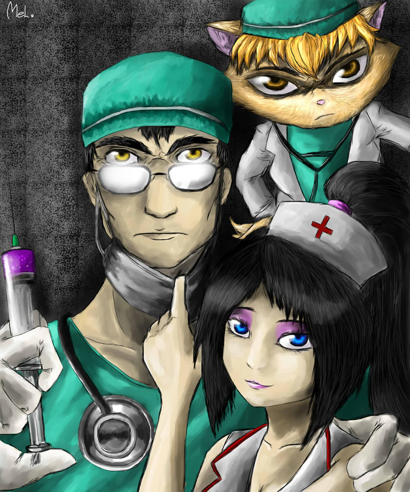 Shen, Akali and Kennen by MelSpontaneus on DeviantArt