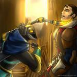 Viktor and Jayce by MelSpontaneus