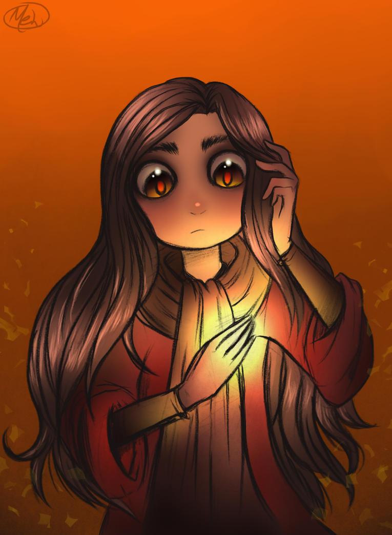 Ava's demon - Ava Ire by MelSpontaneus