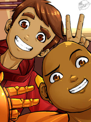 Bravest Warriors - Danny and Wallow