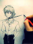 Neo Genesis Evangelion - Kaworu Nagisa