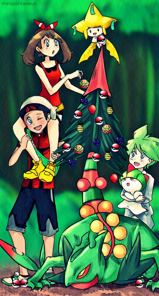 Pokemon - Christmas! by MelSpontaneus
