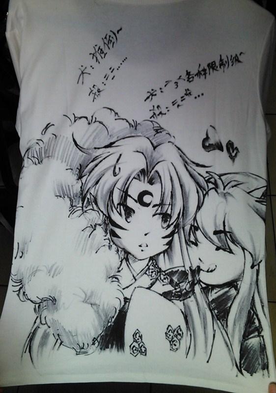 Sesshomaru and Inuyasha T-shirt by jiegengDai