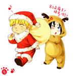 SasuNaru -  Merry Christmas