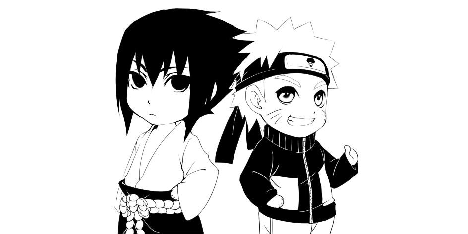 Sasuke And Naruto By JiegengDai On DeviantArt