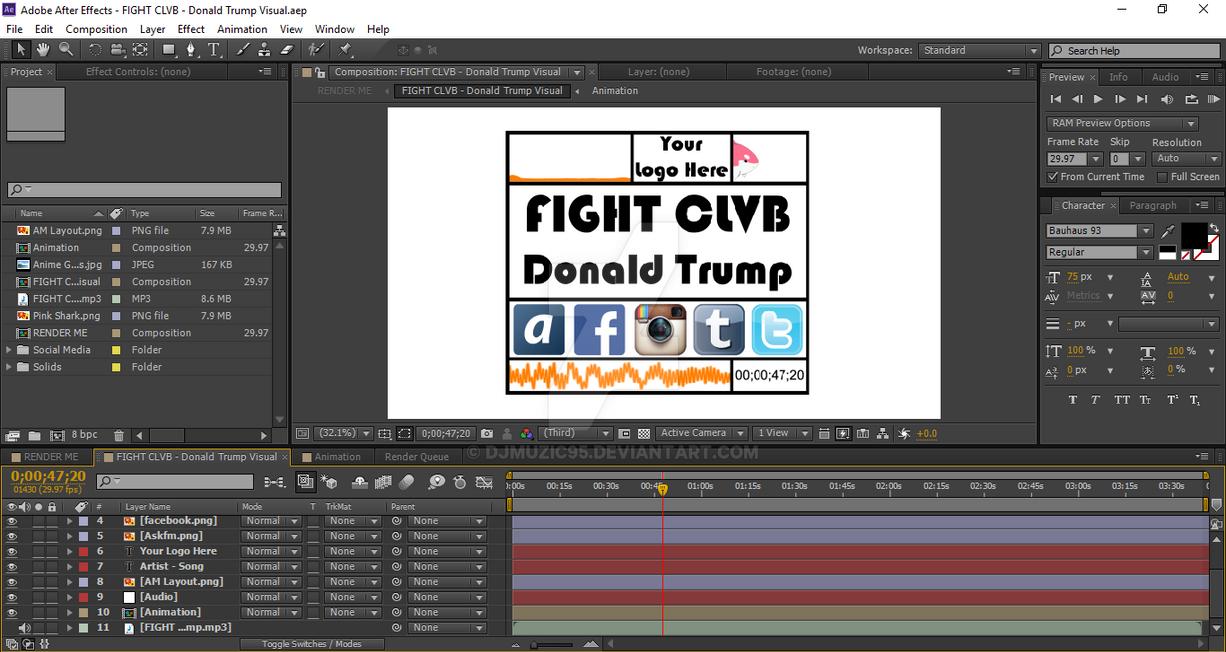 Adobe After Effects Virtual Muzic Template V2 2015 by djmuzic95 on ...