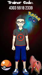 Pokemon Go Trainer Code by djmuzic95
