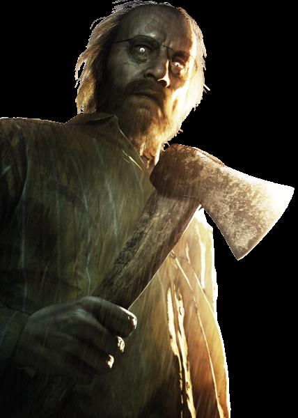 Resident Evil 7 - Jack Baker [Render] by djmuzic95