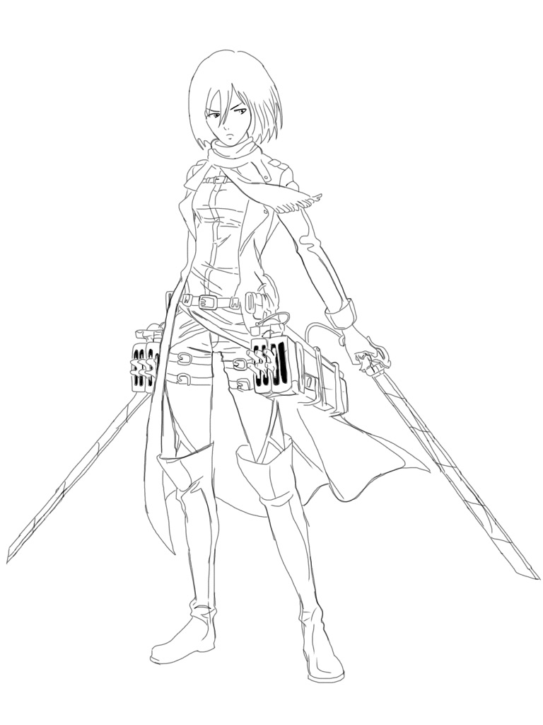 Attack On Titan Mikasa by ArtisticTimeLord on DeviantArt