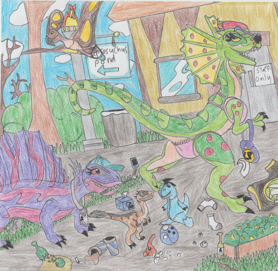 The Night Raiders of Prehistoric Kingdom by RHPengui