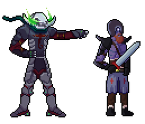 Warriors of the Undead - Pixel Art