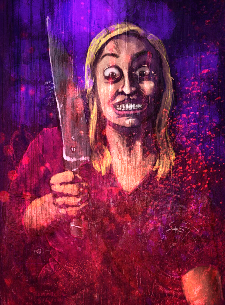 Horror Reddit Girl by TheMI3