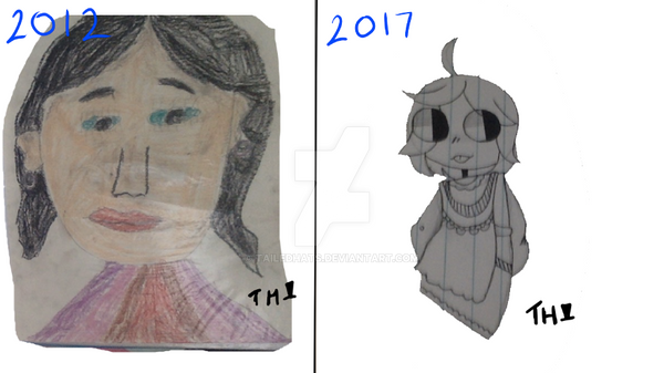 2012 vs 2017 by TailedHats