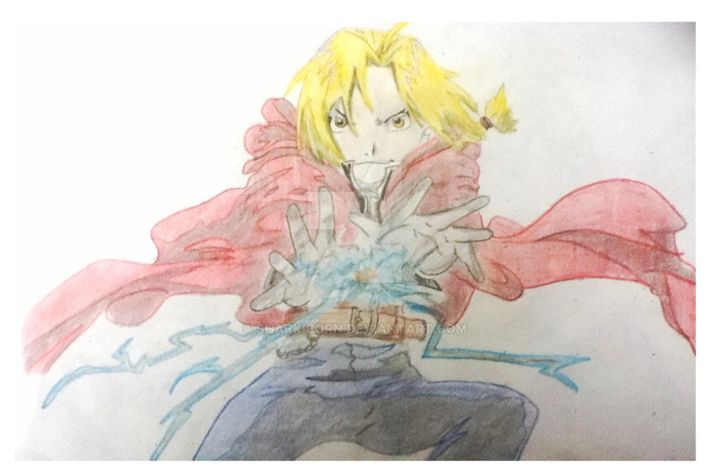 First Edward Elric by SharkiCorn