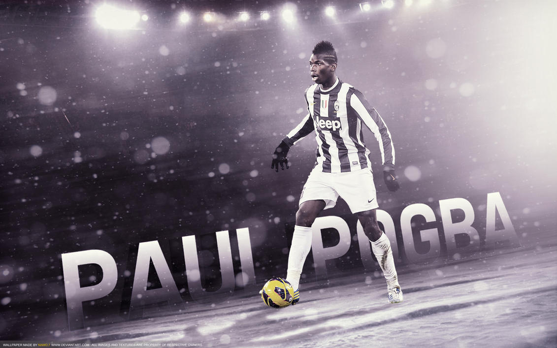 Paul Pogba 6 Juventus Midfielder By Namo,7 By 445578gfx On