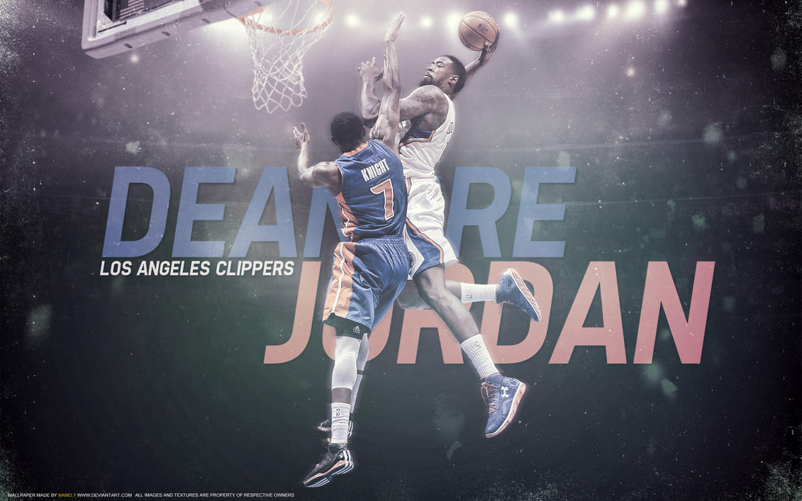 deandre jordan by namo 7 by 445578gfx on deviantart