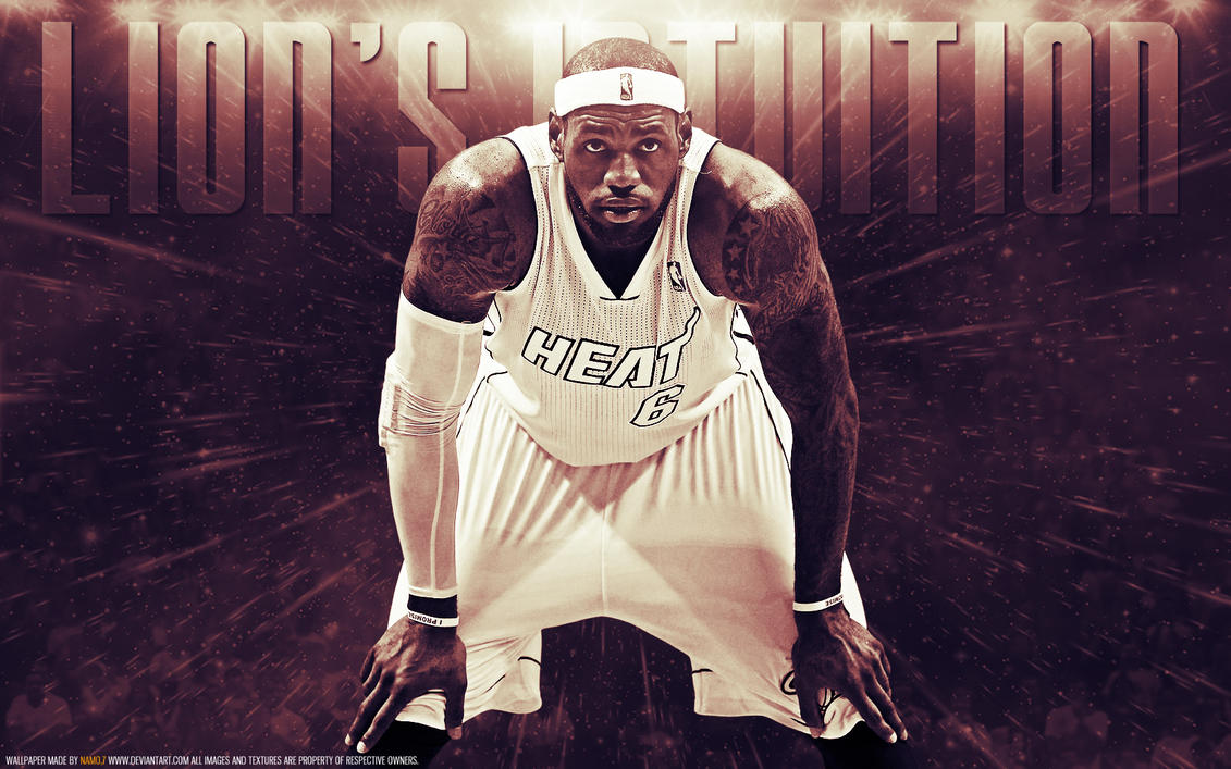LeBron James 6 Miami Heat by namo,7 by 445578gfx