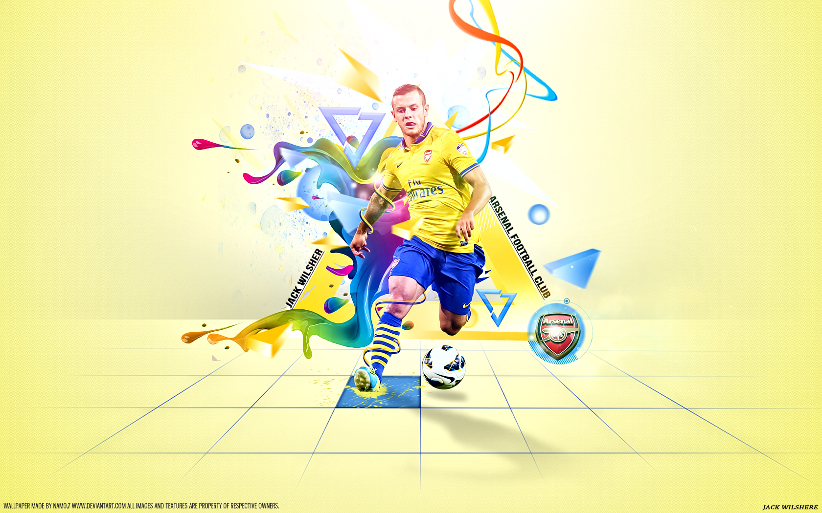 Jack Wilshere 10 ARSENAL By Namo,7 By 445578gfx On DeviantArt