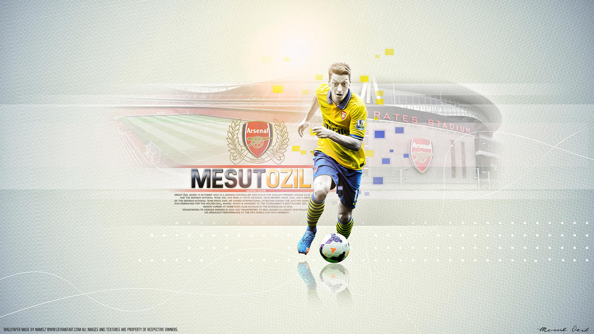 Mesut Ozil 11 Arsenal By Namo,7 By 445578gfx On DeviantArt