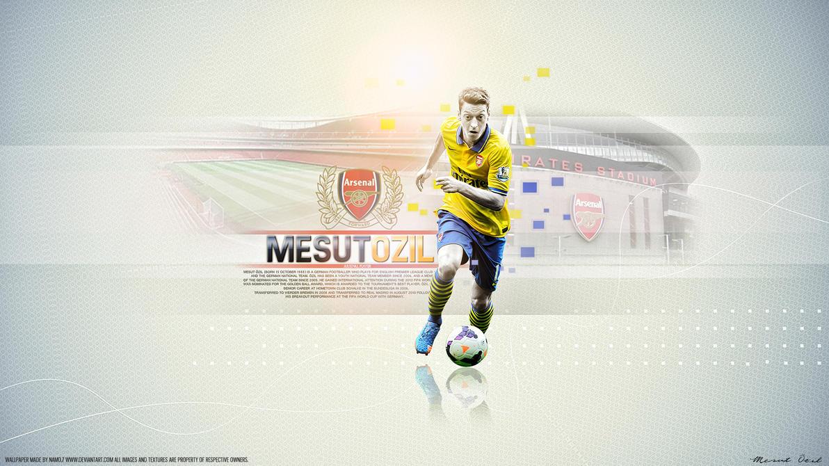 Mesut Özil 11 Arsenal by namo,7 by 445578gfx