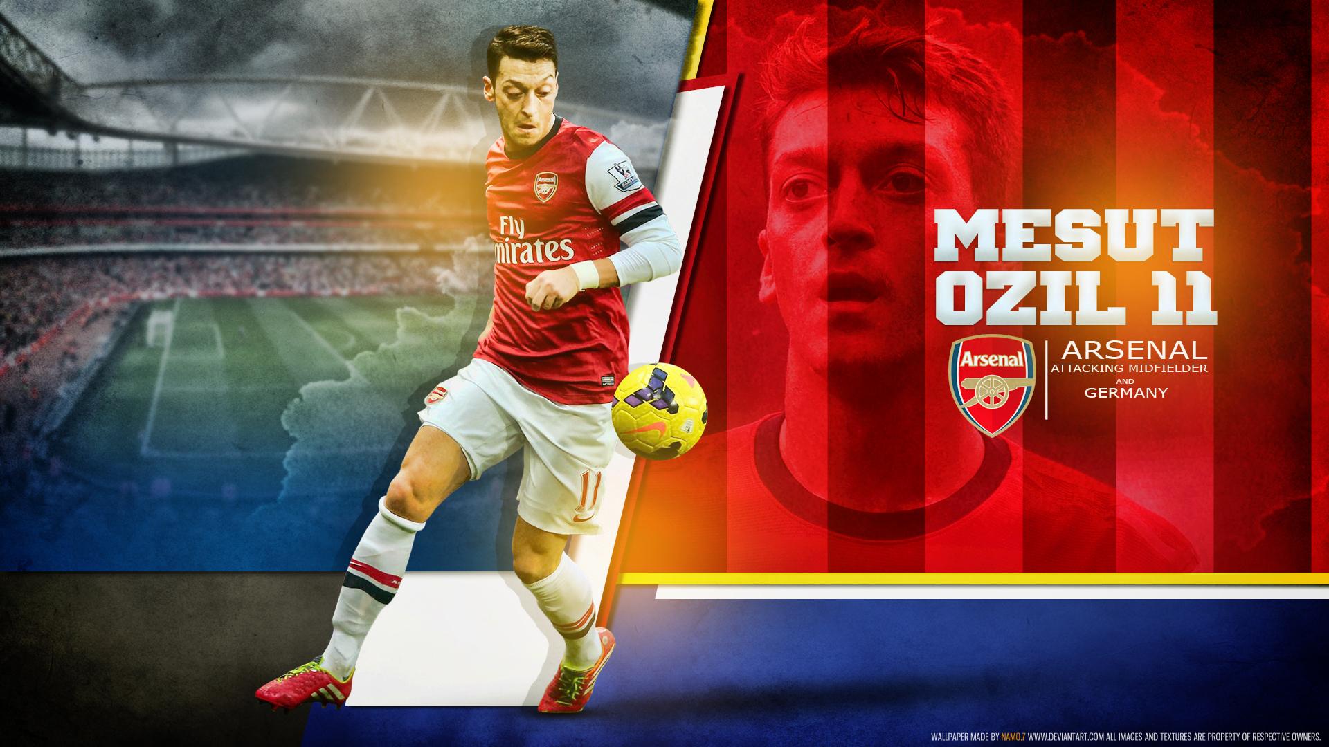 Mesut Ozil 11 Arsenal By Namo,7 By 445578gfx On DeviantArt