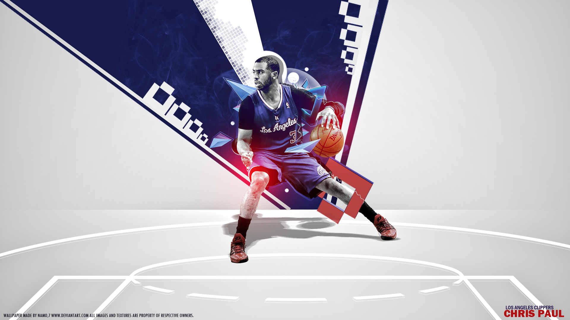 chris paul clippers warriors by namo7 by 445578gfx on