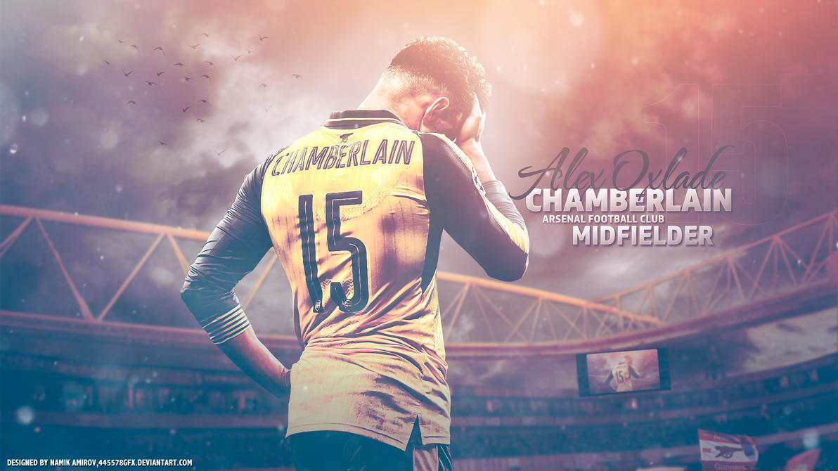 15 Alex Oxlade Chamberlain By Namo,7 By 445578gfx On