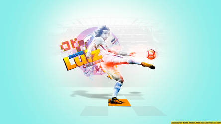 30 David Luiz by namik amirov by 445578gfx