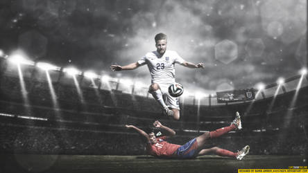 Luke Shaw england by namik amirov by 445578gfx