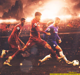 Eden Hazard by namik amirov by 445578gfx