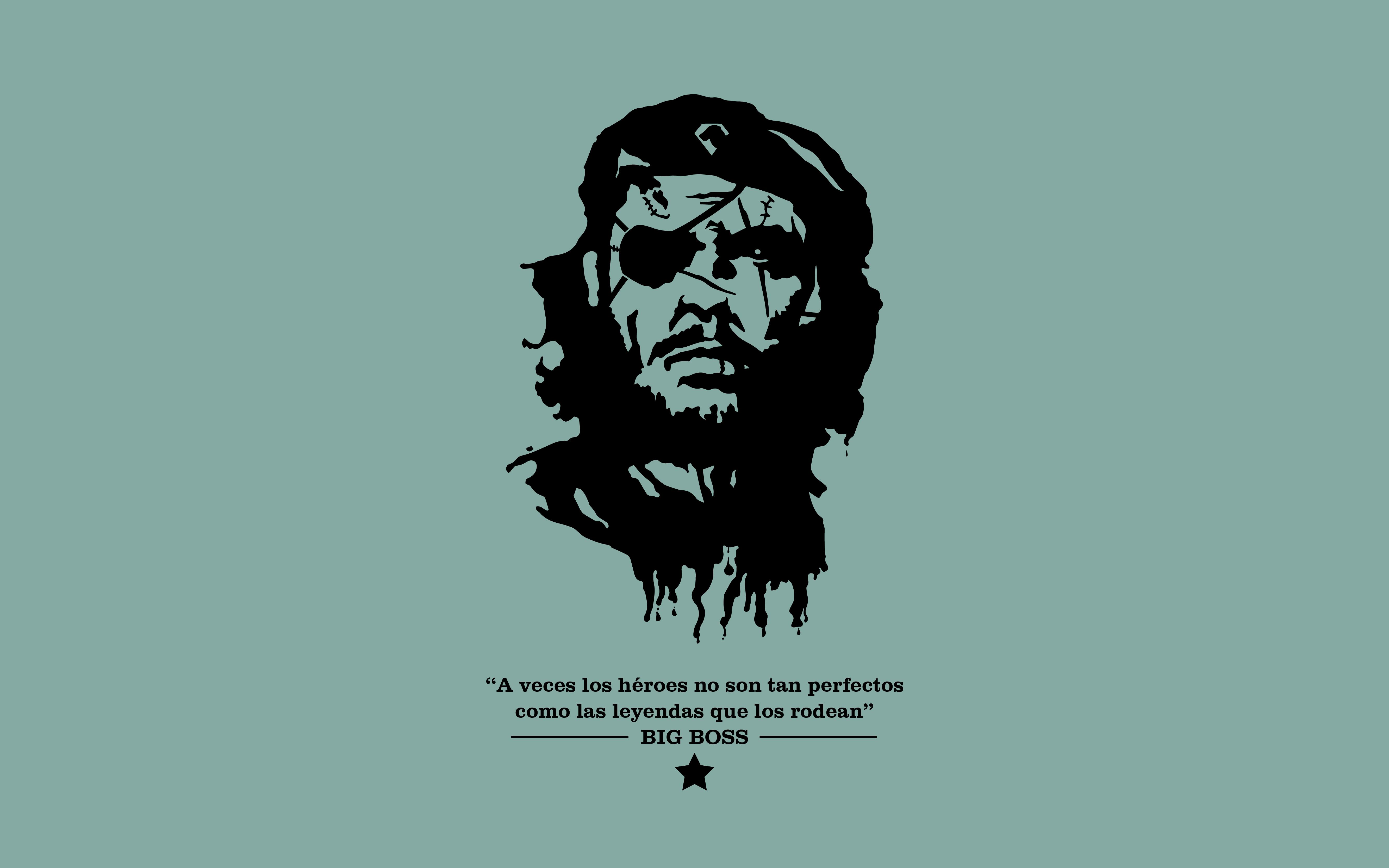 Big Boss Che Wallpaper By Moloch By Moloch15 On Deviantart