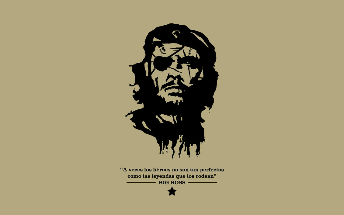 Big Boss El Che Games Done Legit Metal Gear Solid A Revolutionary Life metal gear solid reads