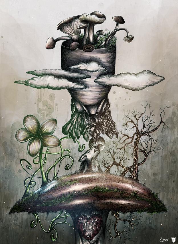 My favorite mushroom by ElSohnSchon