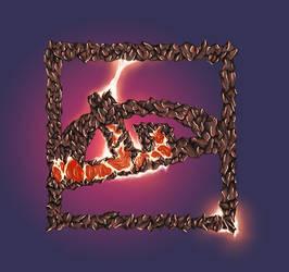 Deviantart's logo Illustration