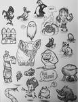 Don't Starve doodles