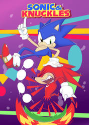 Sonic And Kunckels by warcones