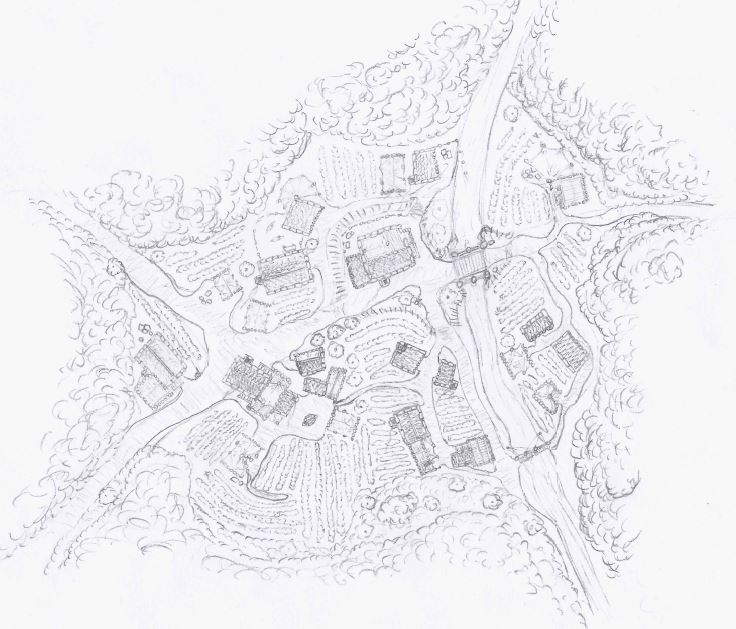 Mapping practice - Forest Village by packie1984