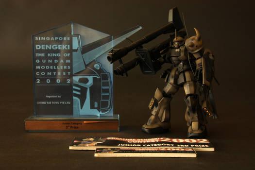 Customized Desert Gouf from Gundam Series
