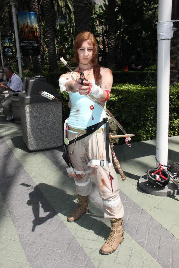 Survivor- Lara Croft by Lady-Redd