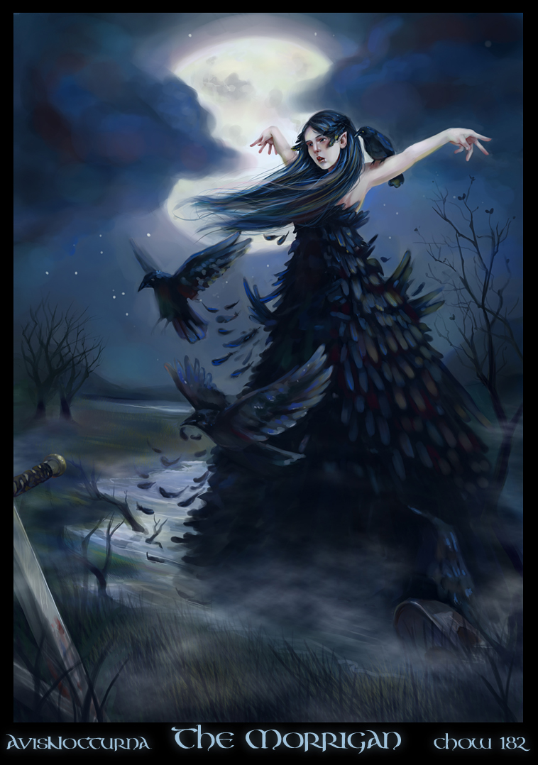 The Morrigan by avisnocturna