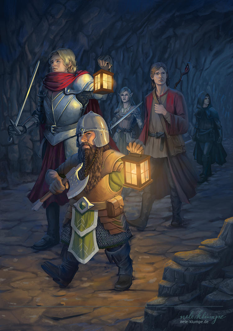 E VAU - entering the Dungeon by avisnocturna