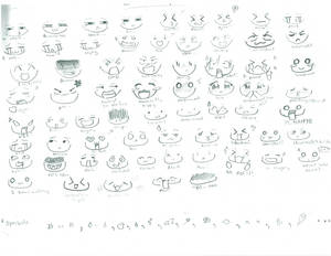 CHIBI EXPRESSIONS :D 1st one