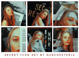 Secret (icon set) by hanchesteria