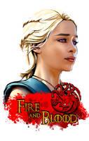 Daenerys Targaryen by powerhouse-bg