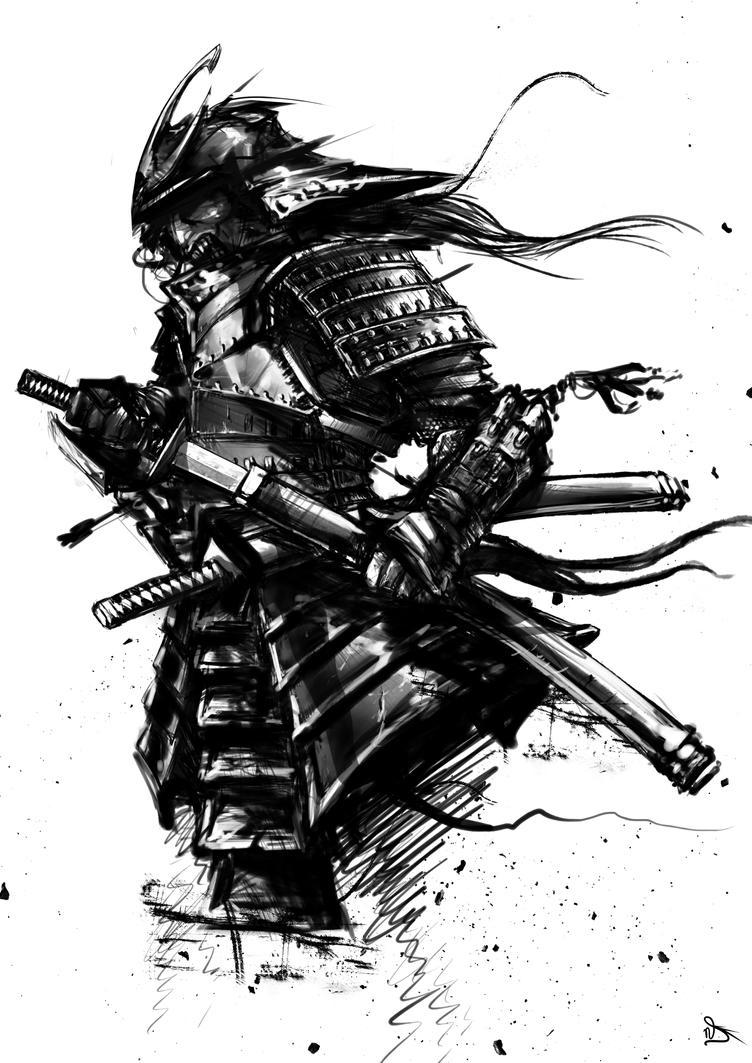Samurai poster by powerhouse-bg