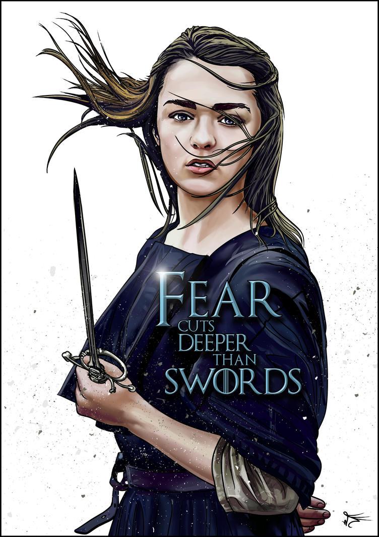 Arya Stark by powerhouse-bg