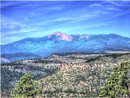 Mount Baldy HDR by Raineshine