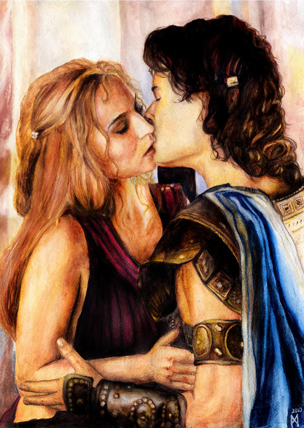 Troy - Paris and Elena by MySpotlessMind
