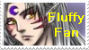 Fluffy Fan stamp by Roots-Love