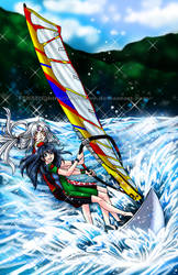 Sesskag summer-windsurfing by Roots-Love